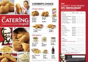KFC Menu Prices Buckets