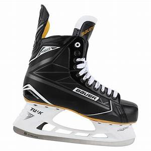 Hockey Skate Fit Chart Bauer Supreme S160 Sr Ice Hockey Skates Skates Hockey