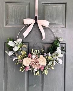 Spring, Wreath, Spring, Wreaths, For, Front, Door, Summer, Wreath