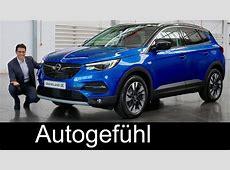 Opel Grandland X REVIEW & comparison Crossland X vs Mokka