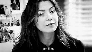 I Am Fine Black And White GIF - Find & Share on GIPHY
