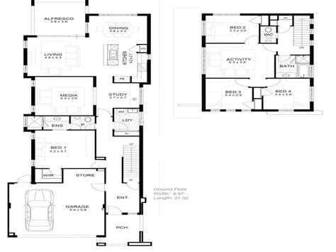house plan for narrow lot bungalow narrow lot house plan lot narrow plan house