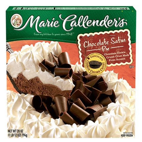 Chocolate Satin Pie | Marie Callender's