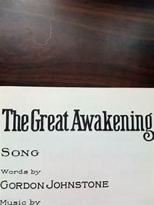The, Great, Awakening, Song