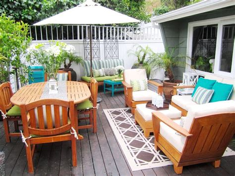 wood deck furniture ideas patio furniture layout patio