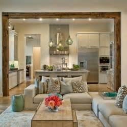 Living Room And Kitchen Ideas Open Concept Living Room Home Sweet Home