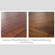 Floating Laminate Wood Vs Hardwood Flooring