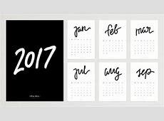 2017 Calligraphy Calendar Giveaway — VICTORIA BEHUN