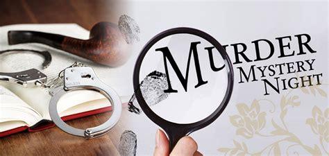 murder mystery murderer mystery