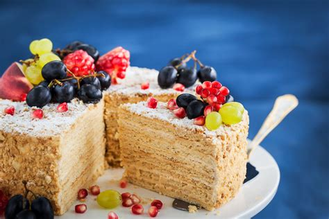 I absolutely love napoleon cake and order it at various restaurants whenever i see one that has it with this napoleon cake recipe with puff pastry i feel very confident that a grand quality napoleon. Russian Napoleon Cake (Napolyeon Tort) Recipe
