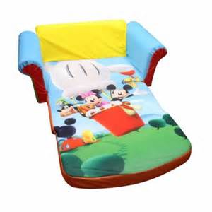 marshmallow furniture 2 in 1 flip open sofa mickey mouse club house walmart