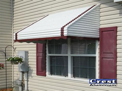 stepdown awning design gallery crest aluminum products
