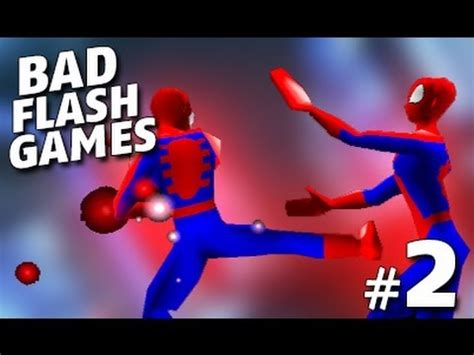 Bad Spiderman Flash Games Part 2 Youtube