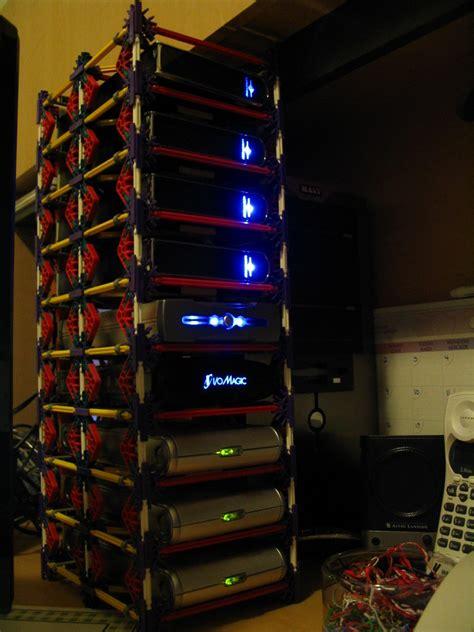 knex hard drive rack