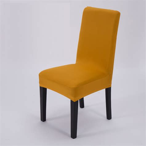 stretch elastic dining room wedding banquet chair cover