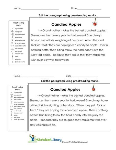 paragraph correction worksheets high school worksheets for