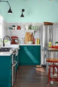 1000 ideas about teal kitchen cabinets on pinterest With kitchen colors with white cabinets with carolyn kinder wall art
