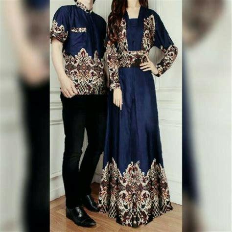 jual batik baju muslim sarimbit pasangan bagus murah di lapak rl store regavir