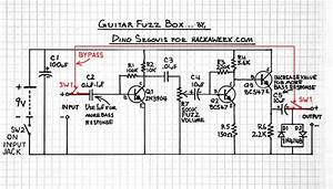 Guitar Fuzz Schematic