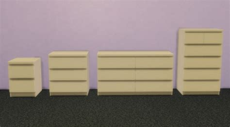 ikea malm bedroom at veranka sims 4 updates