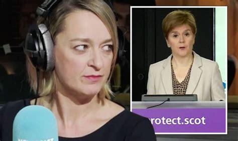 BBC's Laura Kuenssberg exposes what Nicola Sturgeon's ...