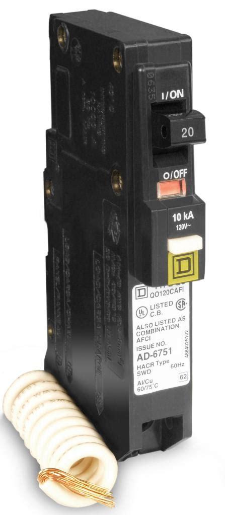 Square D Qo120cafi Qo 20a Arc Fault Breaker Amazoncom