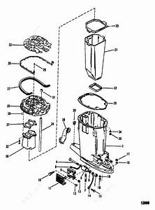 Mercury  Mariner V-150  Drive Shaft Housing And Exhaust Tube