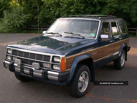 1989 Jeep Wagoneer Limited Sport Utility 4 Door 4 0l 4x4