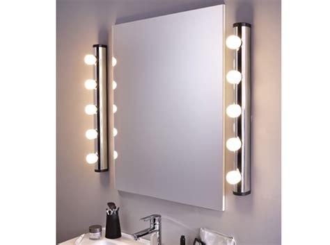 miroir a maquillage avec lumiere am 233 nager sa salle de bains nos conseils de a 224 z d 233 coration
