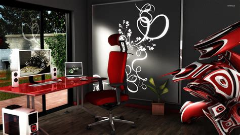Digital Office Wallpaper by New 37 Modern Home Officebackground Minimalist Home Designs