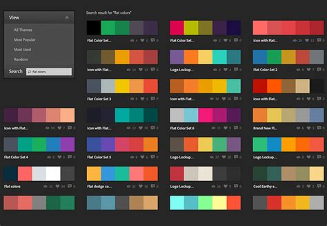 Combination Of Two Colors As Applying Gradients In Design