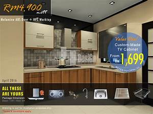Kitchen cabinet promotion promotion jt designtm for Kitchen furniture johor