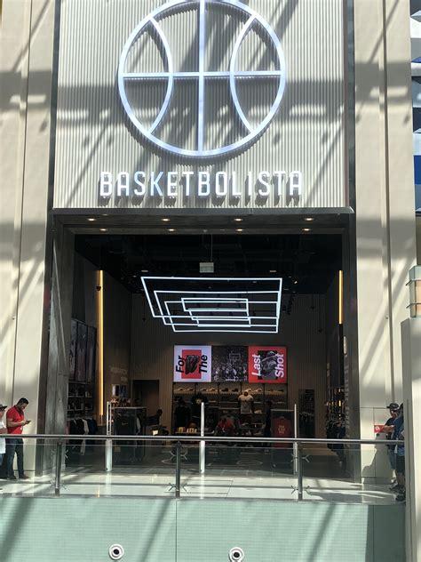 BASKETBOLISTA Dubai mall - Fusion Interior