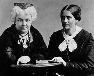 Elizabeth Cady Stanton - Turn of The Century: Women's Status
