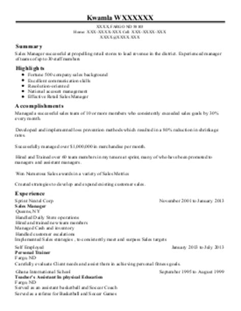 store manager resume exle check into anniston