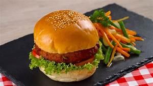 Resep Burger Rendang Tahu Dan Sayuran
