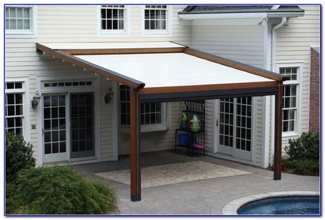 awnings for decks diy awning for deck decks home decorating ideas