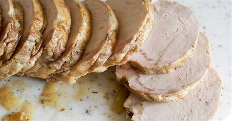 cuisiner un roti de porc rôti de porc recette du rôti de porc cuit sous vide à