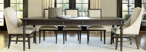 Great Rooms Brownstone Tribeca Extendable Leg Dining Room
