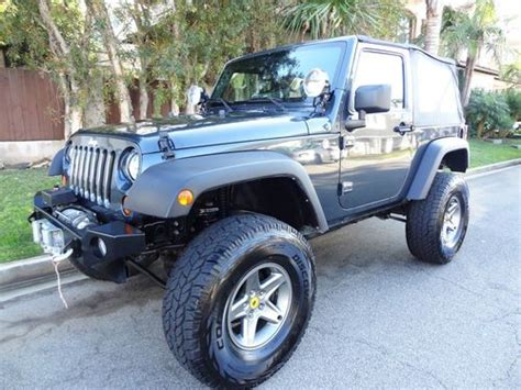 tan jeep lifted sell used 1994 jeep wrangler yj lifted 33s red tan softtop