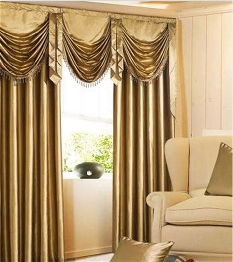 Hang Waterfall Valance Curtains by Gold Faux Silk Waterfall Valance Sale 99 99 Was 200 00