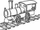 Train Coloring Printable Craft sketch template