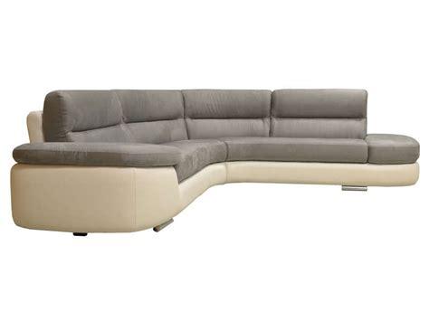 canape alban canapé d 39 angle fixe droit 4 places alban coloris blanc