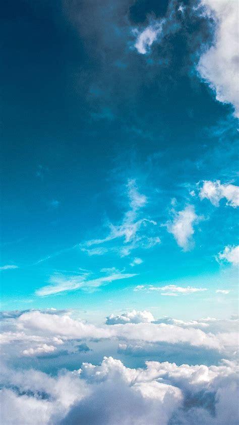 amazing nature iphone 6s wallpapers 9 fonds d 233 cran ciel bleu pour iphone et