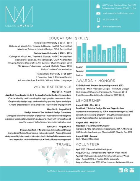 Cool Resume by Cool Resumes Interior Design Search My Style