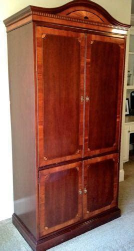 Used Computer Armoire by Tv Armoire Ebay