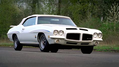 Super Cool And Rare 1971 Pontiac Gto 455 Ho The Judge