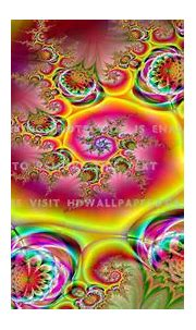psychedelic swirl yellow abstract shapes 3d