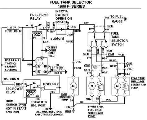 Dual Fuel Tank Diagram Parts Wiring Images