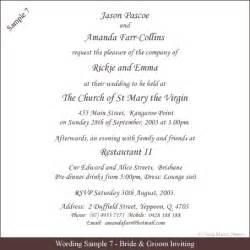 how to write wedding invitations wedding invitation wording sles 21st bridal world wedding ideas and trends